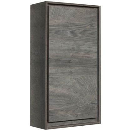 Купить Шкаф для ванной подвесной Мокка 35 см цвет дуб серый дешевле
