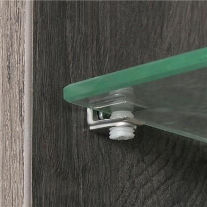 Доставка Шкаф для ванной подвесной Мокка 35 см цвет дуб серый по России