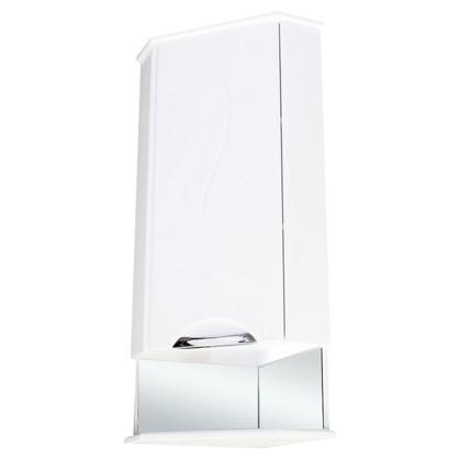 Шкаф для ванной подвесной угловой Глория левый 36 см