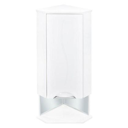 Купить Шкаф для ванной подвесной угловой Лагуна правый 36 см дешевле