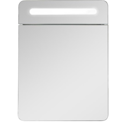 Купить Зеркальный шкаф Аврора 60 см цвет белый дешевле