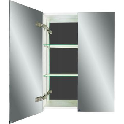 Зеркальный шкаф Дана 90 см цвет белый