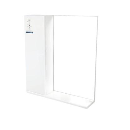 Зеркальный шкаф Eggo 60 см цвет белый