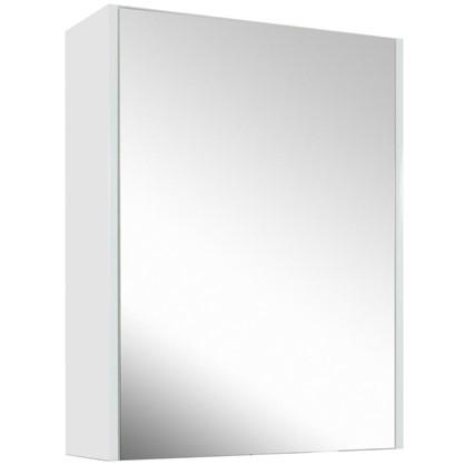 Купить Зеркальный шкаф Экко 60 см цвет белый глянец дешевле