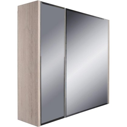 Купить Зеркальный шкаф Экко 80 см дешевле