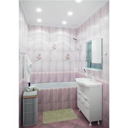 Купить Зеркальный шкаф Эмили 75 см цвет белый дешевле