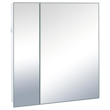 Зеркальный шкаф Форте 70 см цвет белый