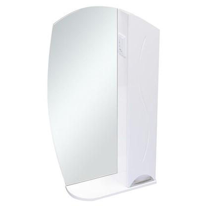 Купить Зеркальный шкаф Глория 55 см цвет белый дешевле