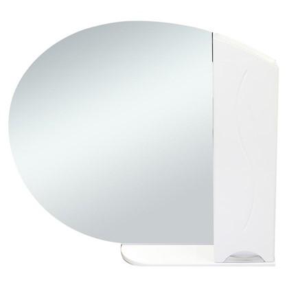 Купить Зеркальный шкаф Глория 90 см цвет белый дешевле
