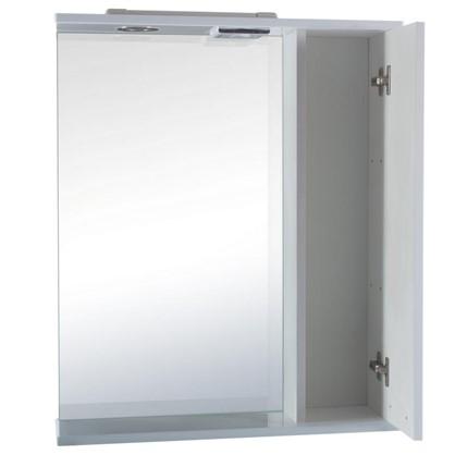 Купить Зеркальный шкаф Классик 60 см цвет белый дешевле