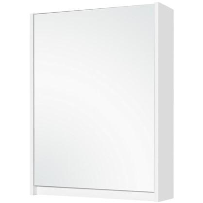 Купить Зеркальный шкаф Квадро 60 см цвет белый дешевле