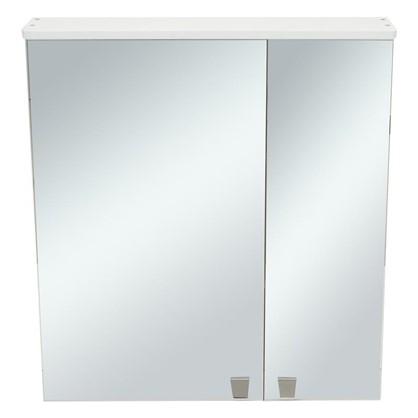 Купить Зеркальный шкаф Лидия 65 см цвет белый дешевле