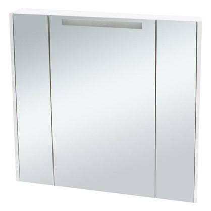 Купить Зеркальный шкаф Мерида 80 см цвет белый дешевле