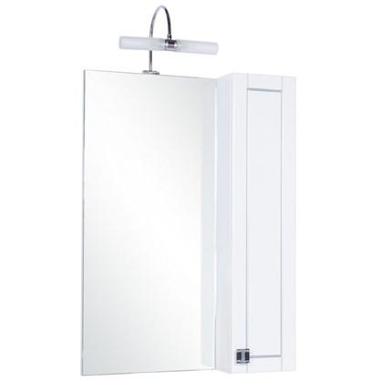 Зеркальный шкаф Мерлин 60 см цвет белый