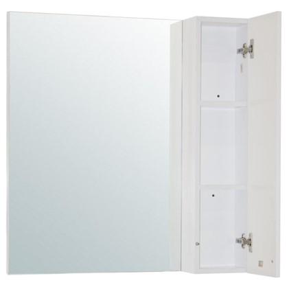 Купить Зеркальный шкаф Мерлин 80 см цвет белый дешевле