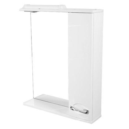 Купить Зеркальный шкаф Палермо 65 см цвет белый дешевле