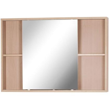 Купить Зеркальный шкаф Римини 100 см цвет белый дешевле