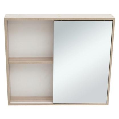 Купить Зеркальный шкаф Римини 80 см цвет белый дешевле