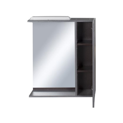 Купить Зеркальный шкаф Торонто 60 см цвет серый дешевле