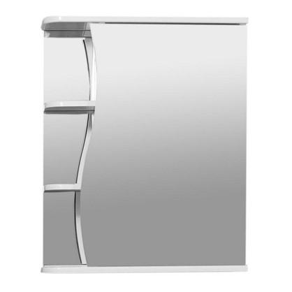 Купить Зеркальный шкаф Тура 50 см цвет белый дешевле