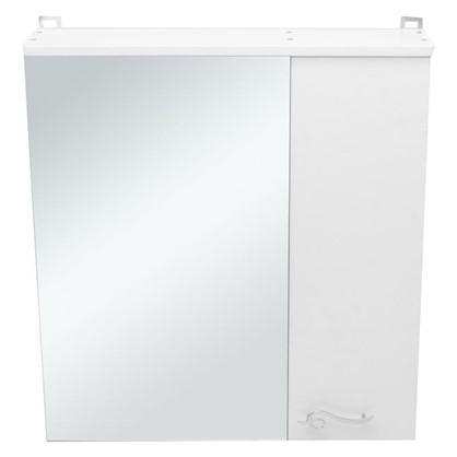 Зеркальный шкаф Венеция 65 см цвет белый