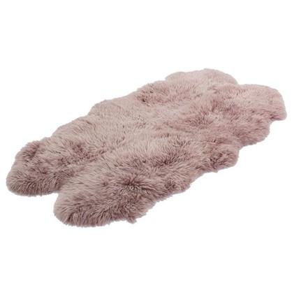 Купить Шкура овечья четверная 1.85x1.05 м цвет серый дешевле