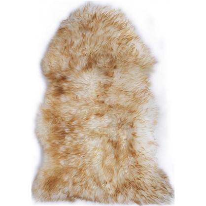 Шкура овечья одинарная 0.95x0.55 м цвет палевый