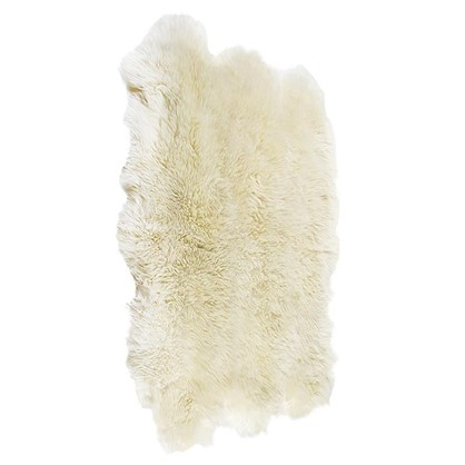 Шкура овечья шестишкурная 1.55x1.1 м цвет белый