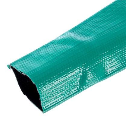 Купить Шланг для полива трёхслойный плоский 2 дюйма цвет зелёный на отрез дешевле