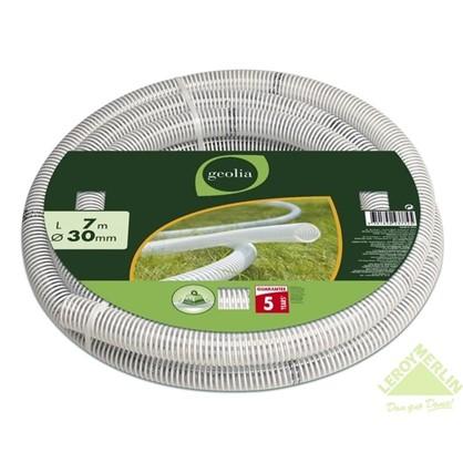Шланг садовый напорно-вакуумный армированный спиралью 30 мм 7 м ПВХ