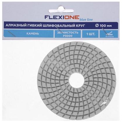 Шлифовальный круг алмазный гибкий 100 мм Р3000