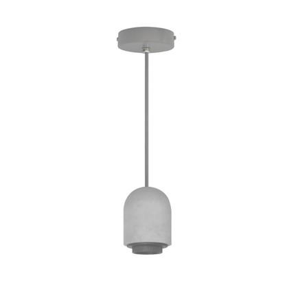 Шнур декоративный Clyde 1xЕ27x60 Вт бетон/металл цвет серый