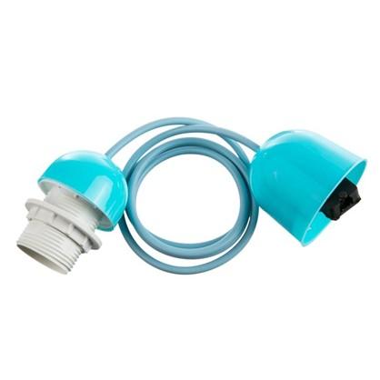 Шнур Honduras 1xE27x60Вт пластик цвет синий