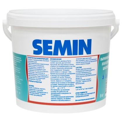 Шпаклевка базовая Semin Sem-BS 8 кг