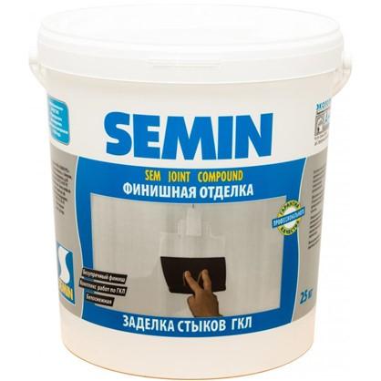 Купить Шпаклевка для заделки швов Semin Sem-Joint 25 кг дешевле