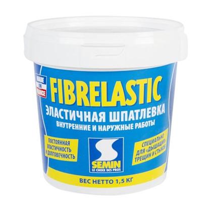 Купить Шпаклевка эластичная Semin Fiberlastic 1.5 кг дешевле