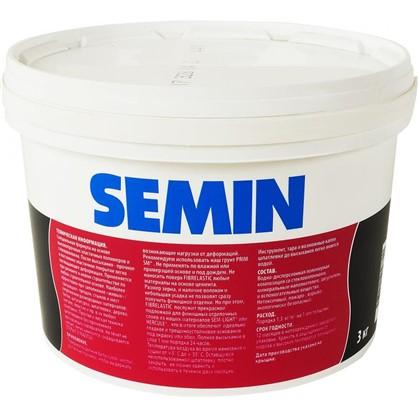 Шпаклевка эластичная Semin Fiberlastic 3 кг
