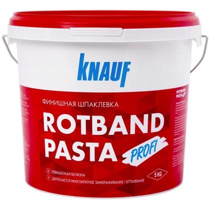 Купить Шпаклевка финишная Knauf Ротбанд Паста Профи 5 кг недорого