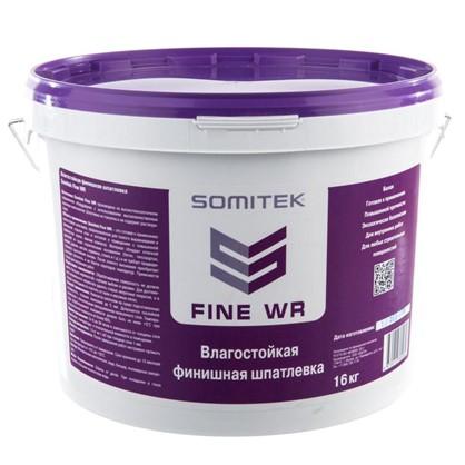 Купить Шпаклевка финишная влагостойкая Somitek Fine WR 16 кг дешевле