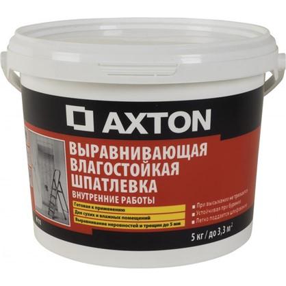 Купить Шпаклевка влагостойкая Axton 5 кг дешевле