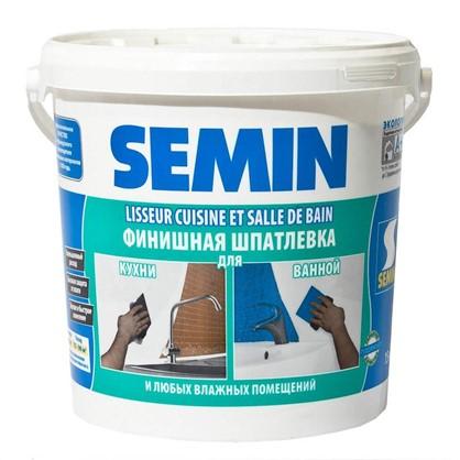 Шпаклевка влагостойкая Semin 15 кг цена