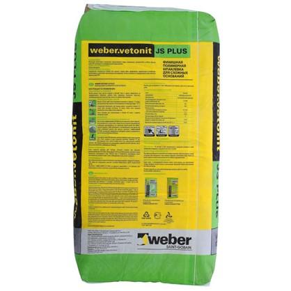 Шпаклевка Weber Vetonit JS Plus 20 кг