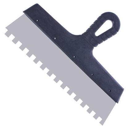 Купить Шпатель фасадный зуб 10х10 мм 300 мм дешевле