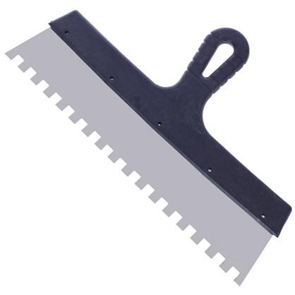 Шпатель фасадный зуб 10х10 мм 350 мм