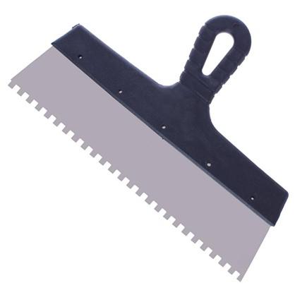 Купить Шпатель фасадный зуб 6х6 мм 300 мм дешевле