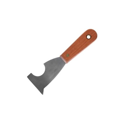 Шпатель-скребок многофункциональный нержавеющая сталь и деревянная ручка