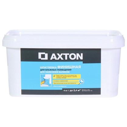 Шпатлевка финишная Axton для влажных помещений 4кг