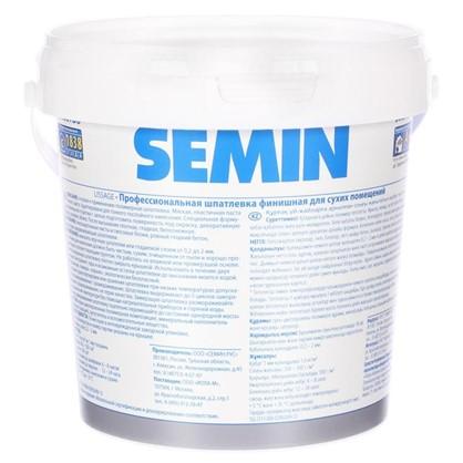 Шпатлевка финишная для сухих помещений Semin 1.6 кг