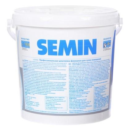 Шпатлевка финишная для сухих помещений Semin 15 кг