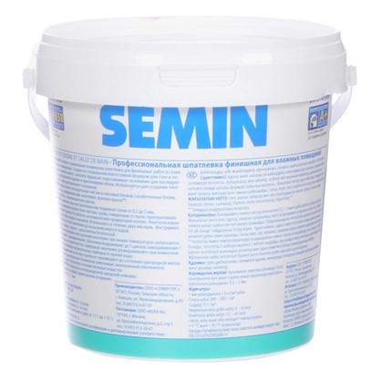 Шпатлевка финишная для влажных помещений Semin 1.5 кг